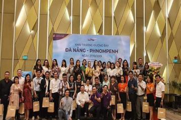 Giới thiệu đường bay mới Đà Nẵng – Pnom Penh