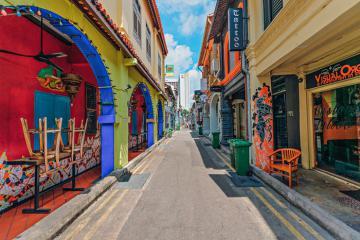 Có gì hay ở phố nghệ thuật Haji Lane của Singapore?