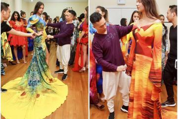 New York Couture Fashion Week: Hoa hậu, siêu mẫu quốc tế casting show của NTK Việt