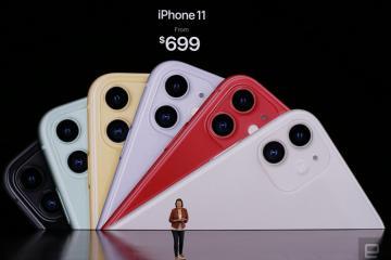 """Bộ ba iPhone 11 chính thức đổ bộ: Màu """"xanh bóng đêm"""" hút mắt, thiết kế camera độc lạ"""