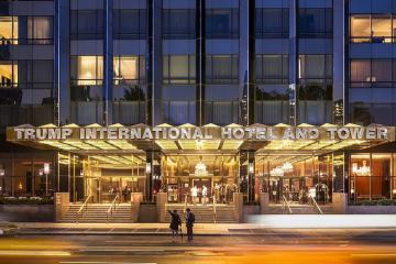 Khách sạn của Tổng thống Trump được bình chọn là khách sạn hàng đầu thế giới