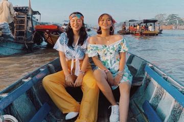 Travel blogger Lê Hà Trúc du lịch Cần Thơ cùng 'người lạ'