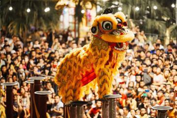 Những màn trình diễn lân hoành tráng mừng Tết trung thu 2019 tại Đà Nẵng