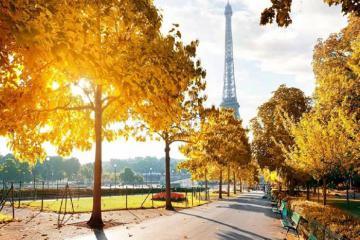 Một mùa thu Paris nữa lại về