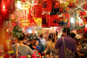 Phố lồng đèn rực rỡ khắp châu Á mùa Trung thu