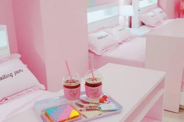Mục sở thị 4 quán cà phê màu hồng ngọt lịm tại sứ xở Kim Chi