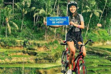 Không phải Bali Swings, 'xe đạp bay' mới là trải nghiệm đáng thử nhất tại Bali