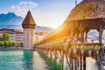 Du lịch Thụy Sĩ: Lucerne - phố cổ muôn màu