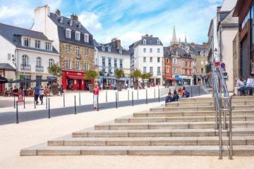 Du lịch Pháp: Dạo quanh những quảng trường độc đáo nhất phố Rennes