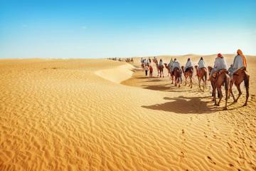 Thung lũng Chết, sa mạc Sahara và những nơi nóng nhất thế giới