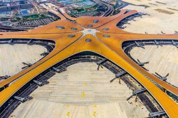 Chiêm ngưỡng siêu sân bay gần 12 tỷ USD vừa được khai trương ở Bắc Kinh