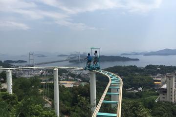 Hết tàu lượn siêu tốc giờ đến tàu lượn siêu chậm chỉ có tại Nhật Bản