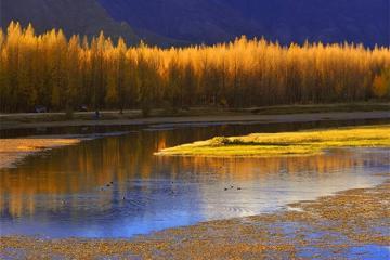 Hồ Kim Sắc, Tây Tạng đẹp như tranh vẽ những ngày sang thu