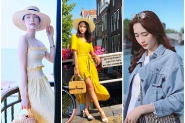 Đã mắt với style thời trang du lịch sành điệu của Sao Việt