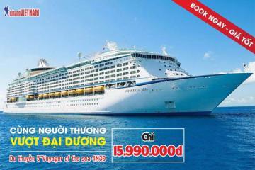 Tour du thuyền 5 sao khám phá Singapore - Malaysia 4N3Đ giá chỉ 15.990.000 đồng