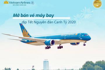 Gần 2 triệu vé máy bay được Vietnam Airlines Group mở bán dịp Tết Canh Tý