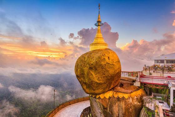Bảo tháp dát vàng và các công trình Phật giáo linh thiêng ở Myanmar