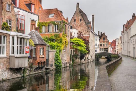 Brugge - Bức tranh thiên nhiên vượt mọi ngôn từ