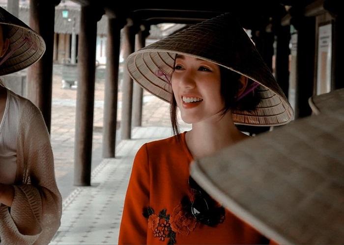 nữ diễn viên Băng Di - đi du lịch