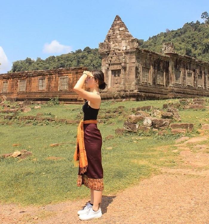 du lịch đền Wat Phou Lào