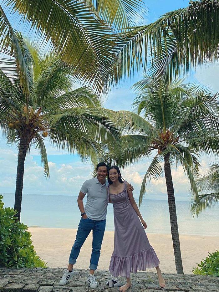 Trúc Diễm du lịch Phú Quốc với chồng