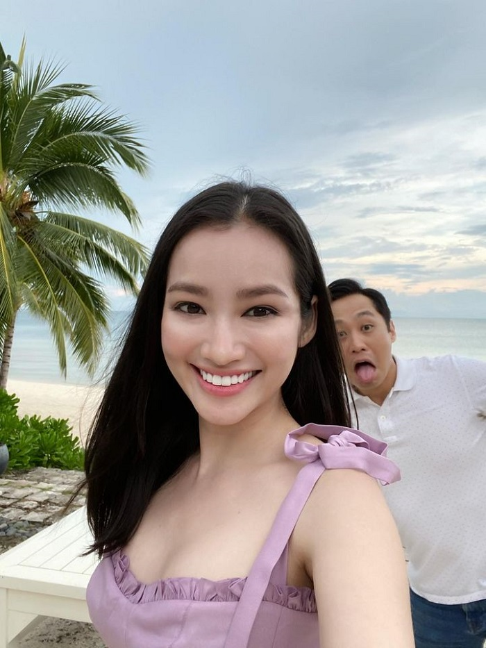 Trúc Diễm du lịch Phú Quốc cùng chồng