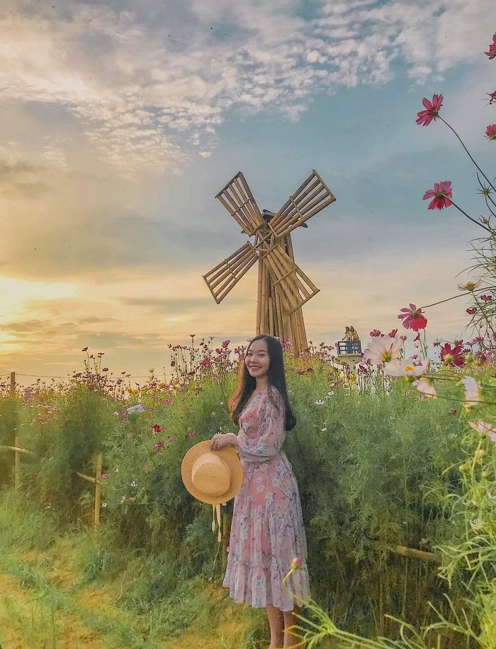 Thanh Van flower garden