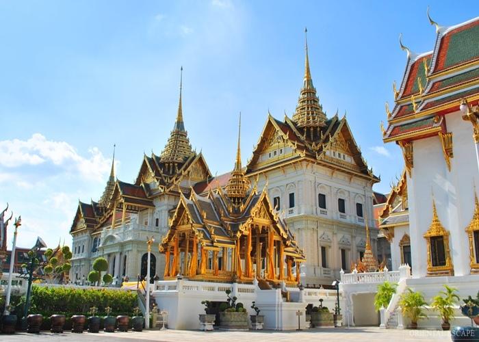Hoàng Cung Thái Lan kiệt tác kiến trúc tuyệt đẹp của xứ chùa vàng