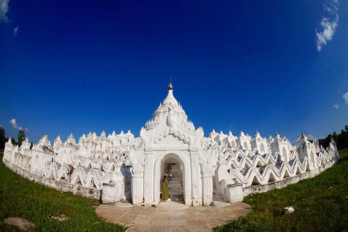 Đến chùa Su Taung Pyae ngắm nhìn toàn bộ thành phố
