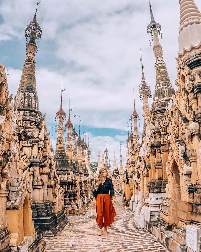 Những di tích cổ tại Myanmar