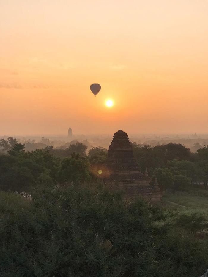Bagan – cảnh đẹp của tự nhiên