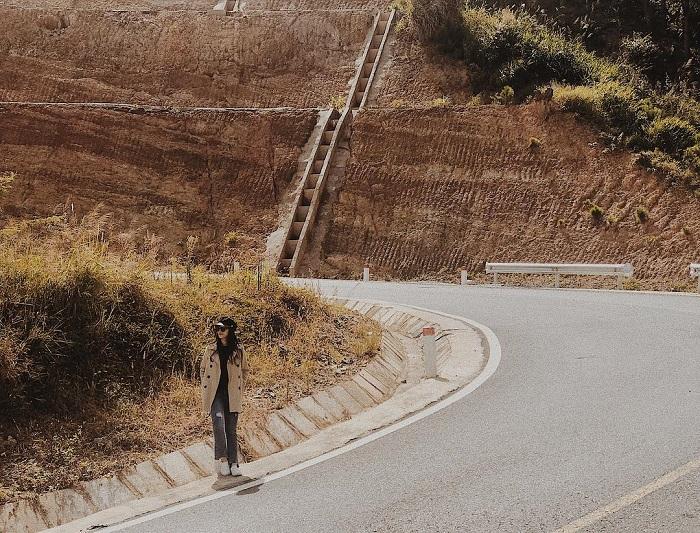 con đèo ở Đà Lạt