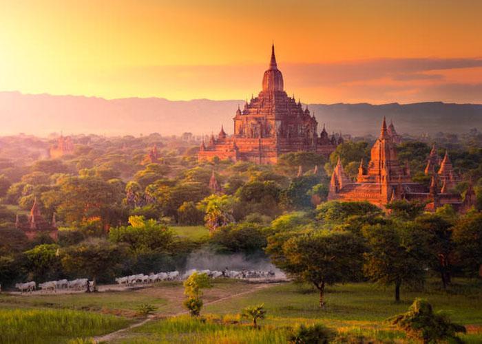 Nên đi du lịch Myanmar vào tháng 11 đến tháng 2