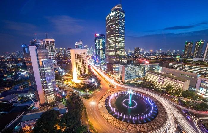 Thủ đô Jakarta xinh đẹp.