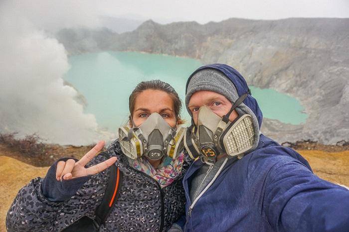 núi lửa Kawah Ijen
