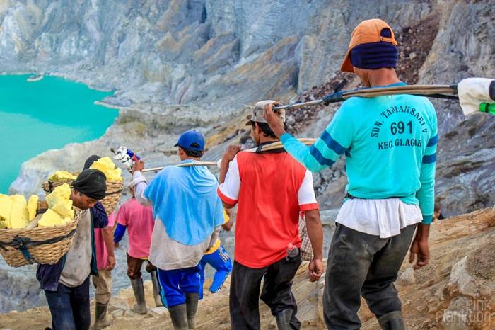 núi lửa Kwah Ijen