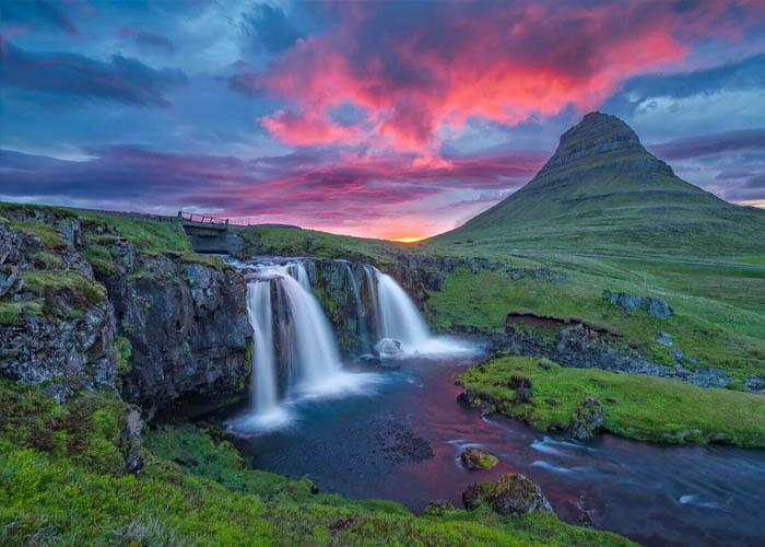 Thác nước Kirkjufellsfoss