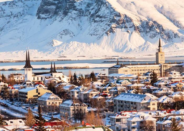 Thủ đô Reykjavik. Ảnh: migolatravel.com