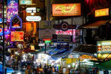 Khao San Bangkok về đêm có gì?