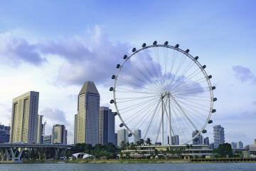 Singapore Flyer - Đu quay khổng lồ chiêm ngưỡng toàn cảnh Singapore