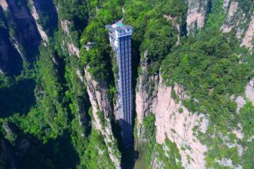 Lên chốn bồng lai với thang máy ngoài trời cao nhất thế giới