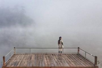 Ban Wat Chan - rừng thông huyền ảo sau lớp sương mù tại Chiang Mai