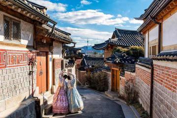 Du lịch Hàn Quốc khám phá 7 thị trấn tuyệt đẹp