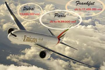 Khuyến mại đặc biệt từ hãng hàng không Emirates cho hành khách Việt Nam