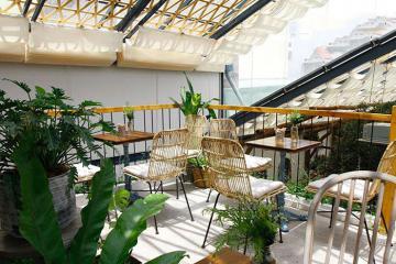 Farmers' Garden - quán cafe hữu cơ xanh độc nhất Sài Thành