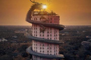 Wat Samphran, ngôi chùa có kiến trúc 'rồng cuộn' kỳ lạ ở Thái Lan