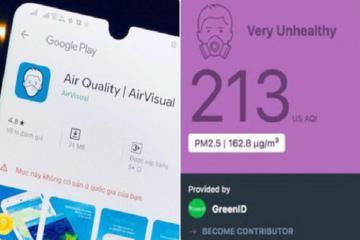 Bị rate 1 sao, AirVisual vội đính chính: 'Hà Nội không phải là thành phố ô nhiễm nhất thế giới'