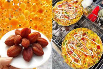 Hồng giòn, lẩu gà é và ẩm thực Đà Lạt mùa thu