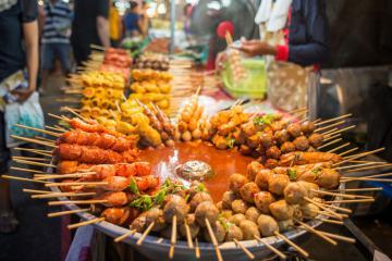Top 5 thành phố nổi tiếng thế giới với những khu ẩm thực hấp dẫn
