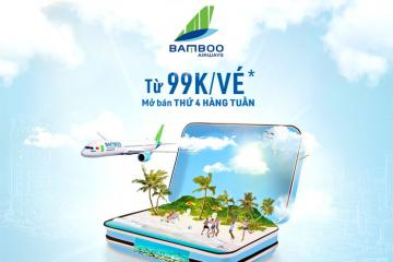 Bamboo Airways mở bán vé máy bay 99.000 VNĐ